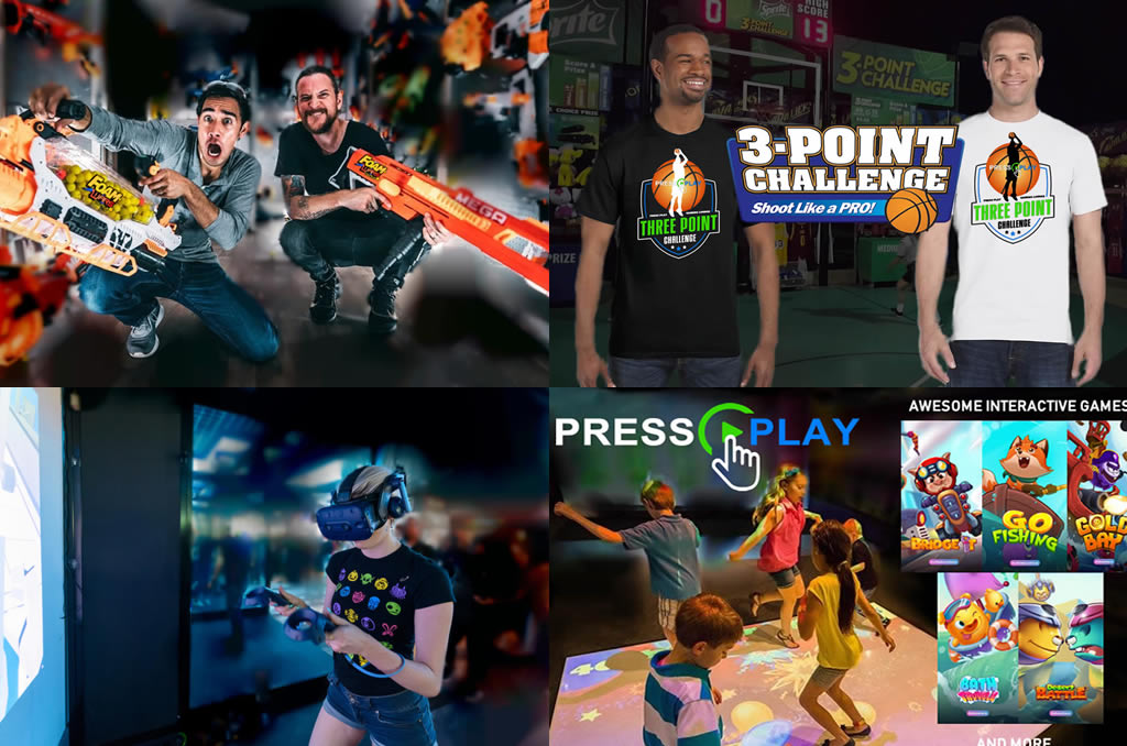 Virtual Reality | Nerf | Basketball | Arcade